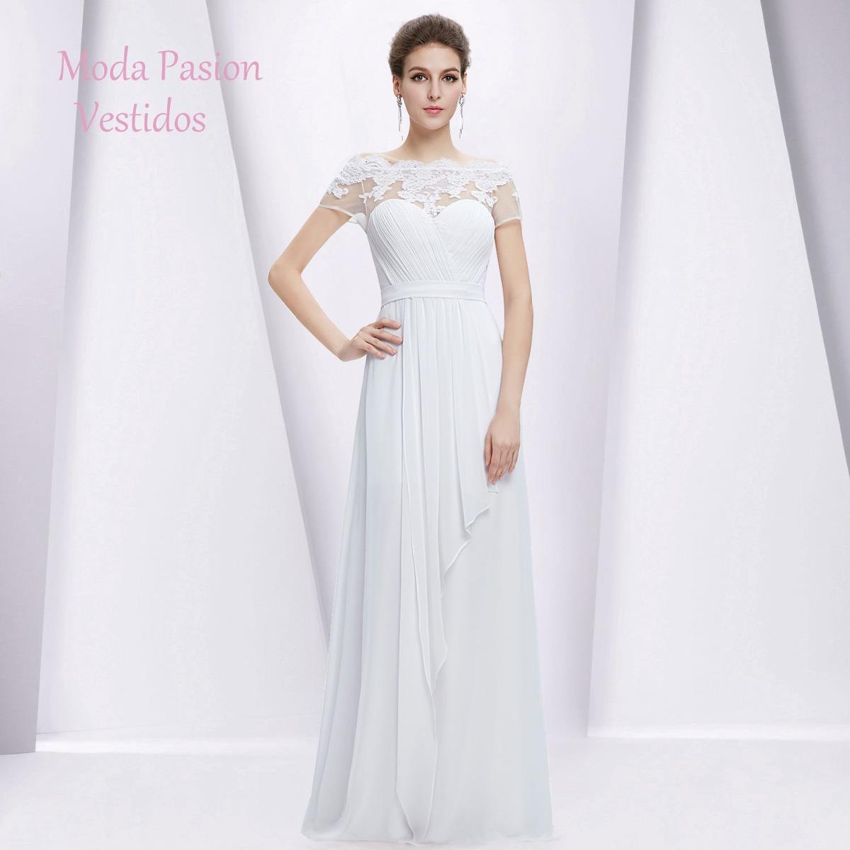 vestido de novia gasa