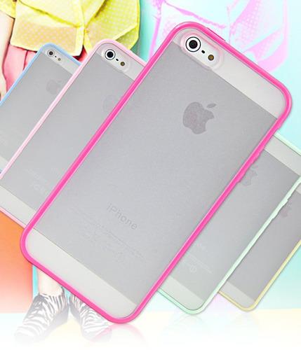 increibles bumper iphone 5 5s variedad de colores tpu