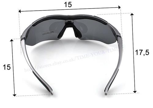 increibles lentes rockbros ciclismo deportes. 5 micas