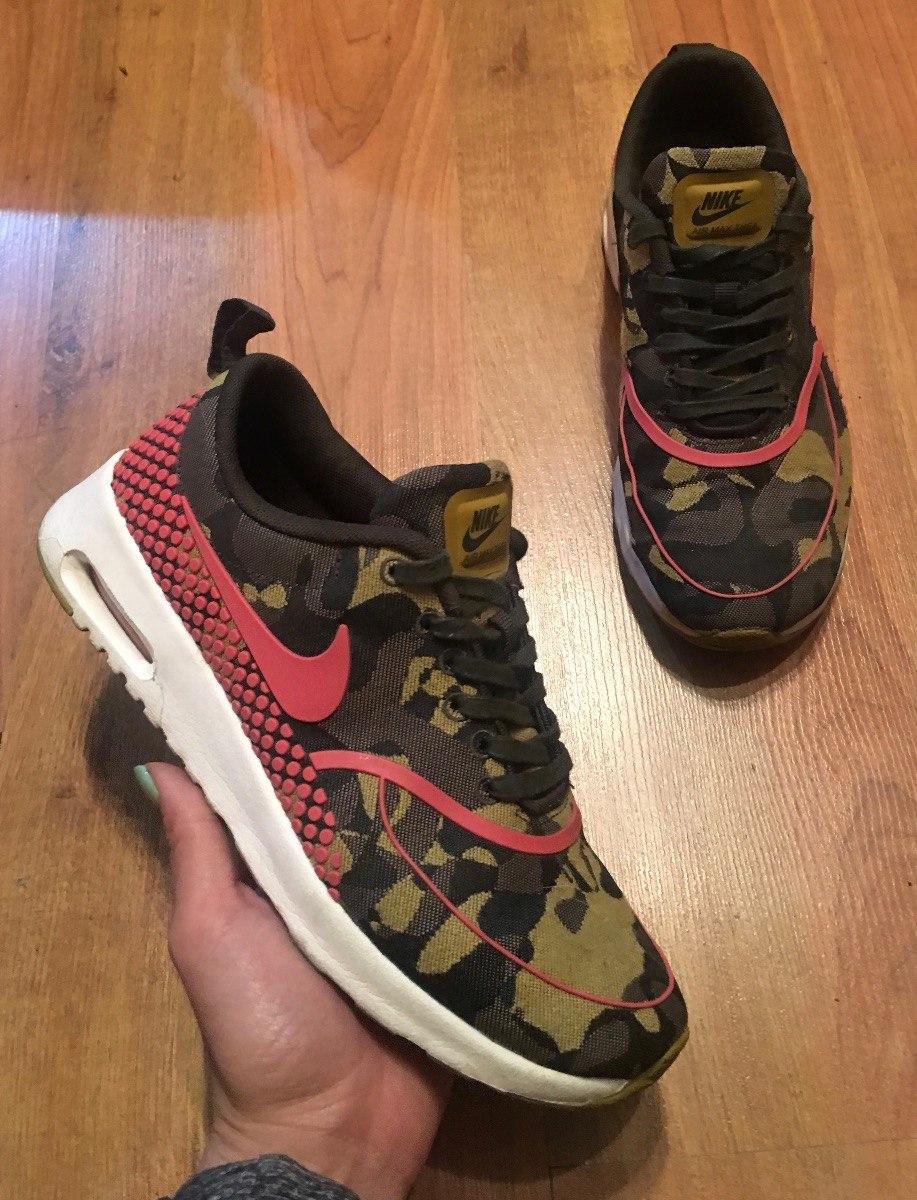 Air 649 Nike Thea Camouflage Tenis 00 Originales1 Max Increíbles 24 rdWeBxoC