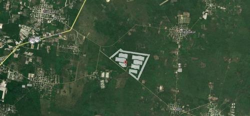 increíbles terrenos residenciales en privada zena en yaxkukul