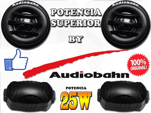 increibles tweeters by audiobahn con novedosos accesorios