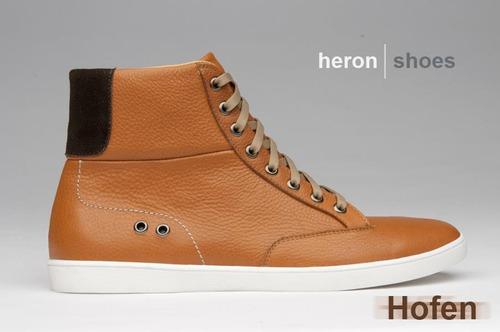 increíbles zapatos de moda heron.- 100% cuero. exclusivos