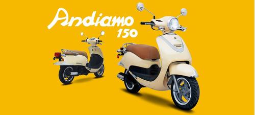 incrible oferta scooter guerrerogsl 150 andiamo motovega
