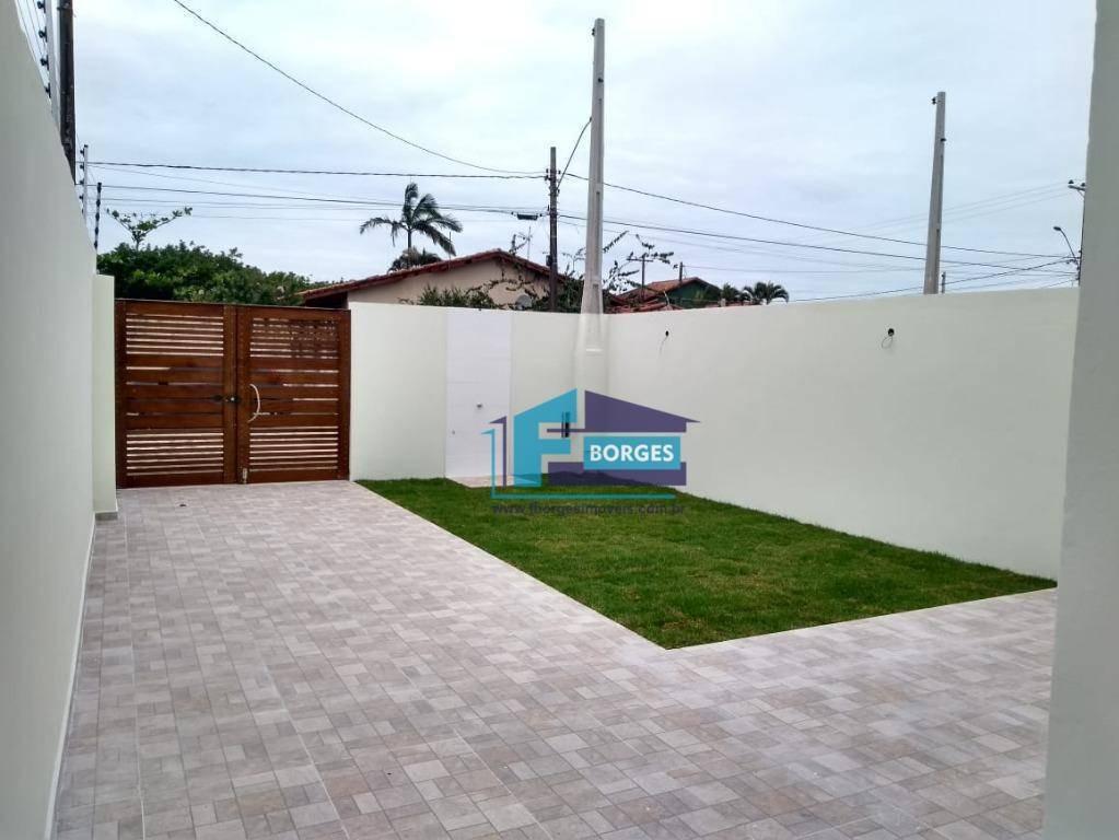 incrivel imóvel lado praia minha casa minha vida com espaço para piscina só 227mil utilize seu fgts whats (13) 98174-2222 - ca0302