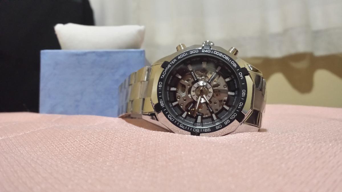 a445e41037c incrível relógio winner skeleton automático - 100% original. Carregando  zoom.