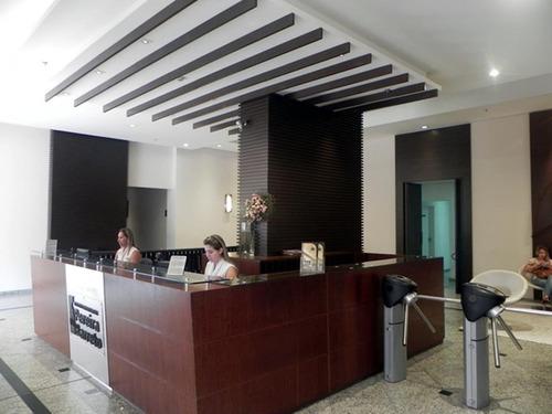 incrível sala comercial, mobiliada, prédio bem construído, localização privilegiada !!! - sa0101