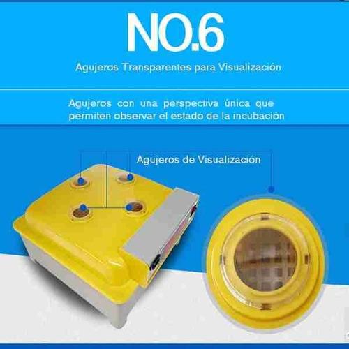 incubadora automatica 56 huevos + regalos envio gratis