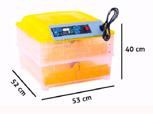 incubadora automatica  huevo 96 pollo gallina encubadora