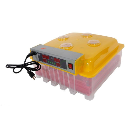 incubadora automatica pollos volteador incubar 48 56 60 hvs