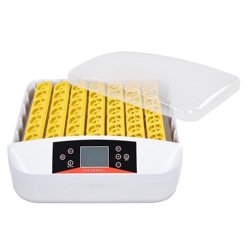 incubadora de 56 huevos aves con ovoscopio + envio gratis