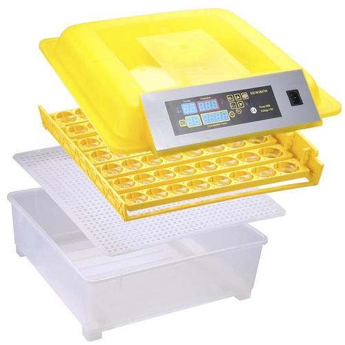 incubadora de 56 huevos con volteador y envio gratis