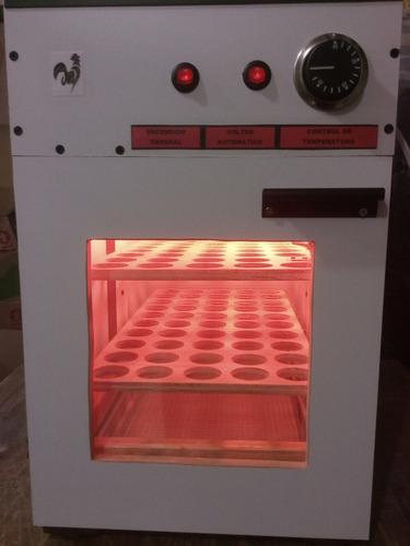 incubadora de cien huevos automatica