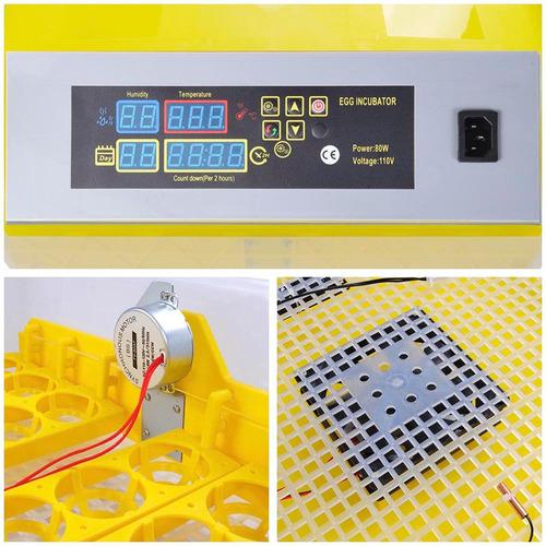 incubadora digital 48 claro hatcher con automático turner