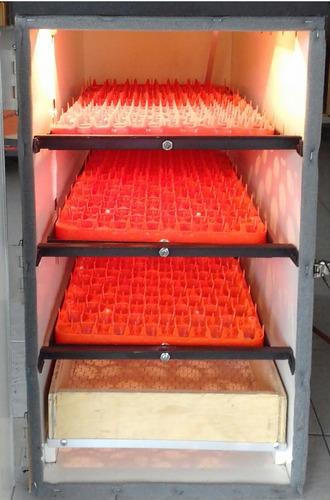 incubadora digital automatica 408 huevos varios volteador