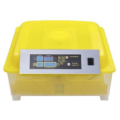 incubadora digital de huevos con capacidad para 48