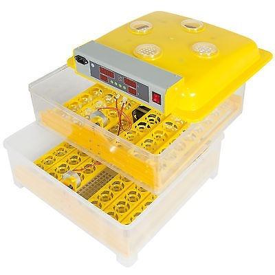 incubadora para pollos gallinasx 96 huevos manual