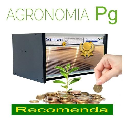 incubadora pg para poder germinativo agronomia full compacta