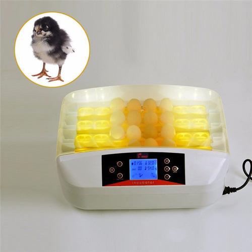 incubadora pollos con volteador 32 huevos automatica incubar