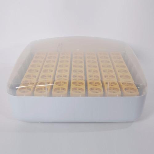 incubadora pollos con volteo automatico incubar 56 huevos