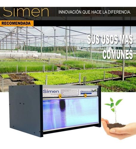 incubadora simen poder germinativo. full  cultivo p g