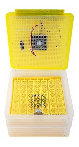 incubadoras automáticas 56 huevos volteo y humidificador