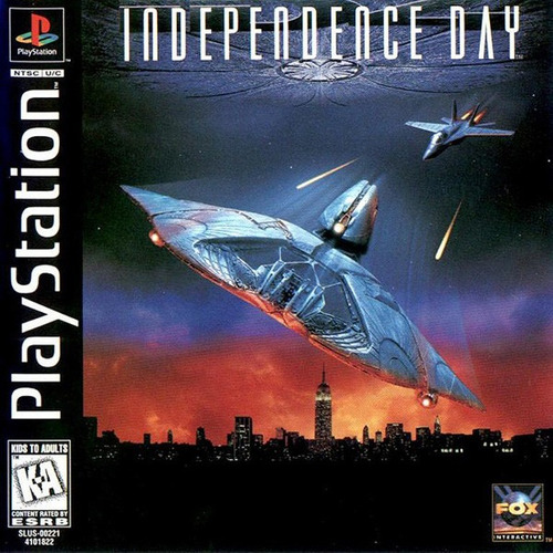 independence day - playstation 1 - psx -