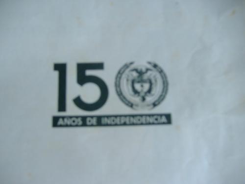 independencia de colombia ''libro antiguo''