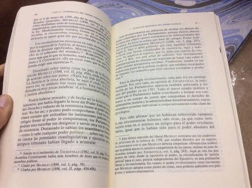 independencia juez y desorganización judicial. v hernández
