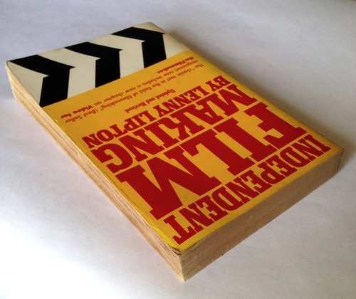 independent film making / lenny lipton / libro 1983 / inglés