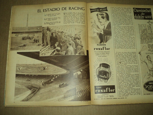 independiente / boca / river / racing / el grafico n° 1619