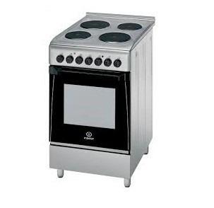 indesit cocina eléctrica 50 cm kn3e51x s/tapa rd