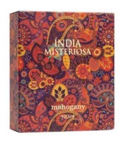 índia misteriosa perfume mahogany 100ml