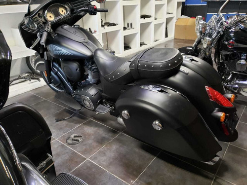 indian chieftain dark horse 2017 solo 13,823 km impecable