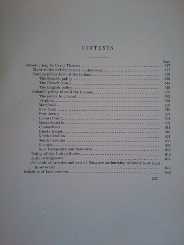 indian land cessions in the united states - charles c. royce