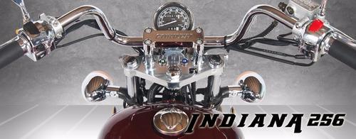indiana 256 motos moto chopper corven