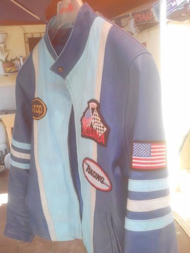 indiana casaca de cuero legitima americana