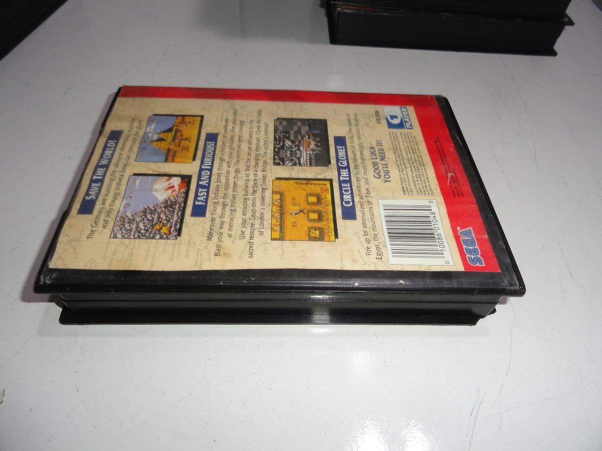 Indiana Jones Instruments Of Chaos Mega Drive Caixa