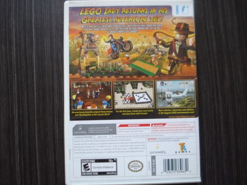 indiana jones lego wii wii