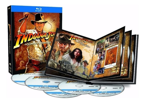 indiana jones the complete adventures blu-ray 5 discos