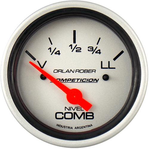 indicador de nivel de combustible orlan rober v300 plateado