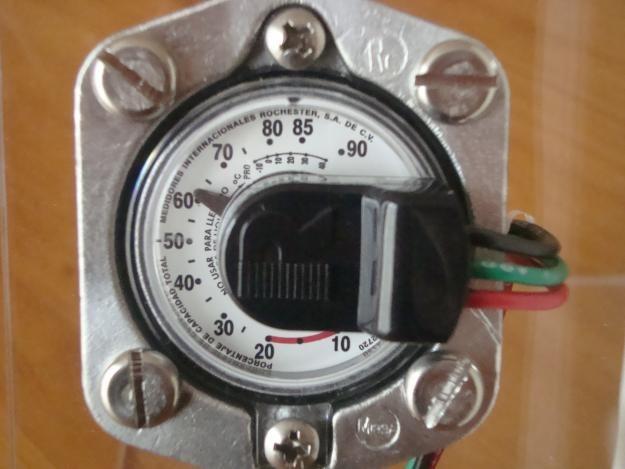 Indicador o medidor remoto para gas lp tanque estacionario Tanque de gas estacionario