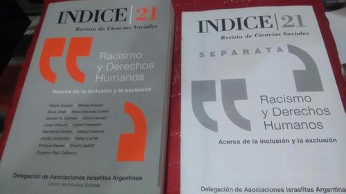 índice 21 revista de ciencias sociales  racismo y ddhh