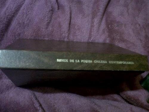 indice de la poesia chilena contemporanea - hernan del solar