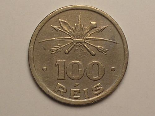 índio c/ círculo no rosto) 100 rs. 1932  vicentina / c02