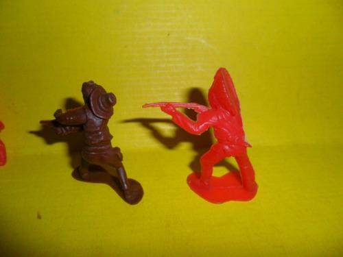 indio fusil apache indiecito arco juguete muñeco miniatura
