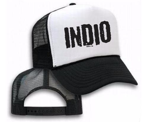 indio los redondos pr - gorras con tu idea!
