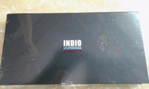 indio solari discografia completa 6 cd + 2 dvd 100% original