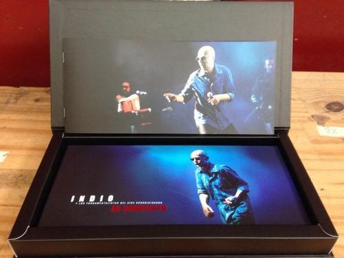 indio solari en concierto 2 cd + 2 dvd la pelicula nuevo
