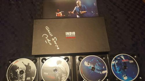 indio solari en concierto autografiado (único/colección)